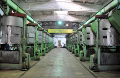 Taller de la fábrica foto de archivo