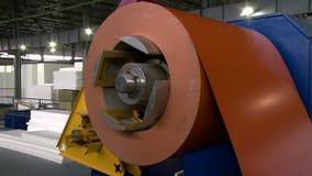 Taller de la fabricación Máquina moderna, primer almacen de video
