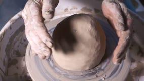 Taller de la habilidad del arte decorativo de la arcilla de pote metrajes