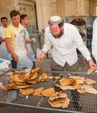 Taller de la hornada del Matzah Fotografía de archivo libre de regalías