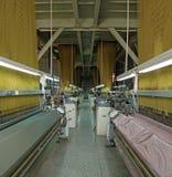 Taller de la materia textil Fotografía de archivo