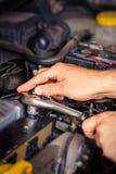 Taller de reparaciones auto Foto de archivo