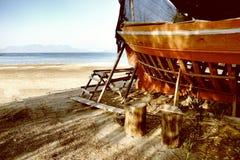 Taller del barco Foto de archivo libre de regalías