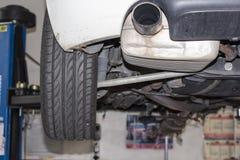 Taller del coche Foto de archivo