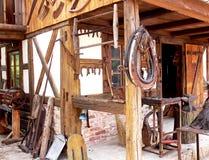 Taller del herrero Foto de archivo libre de regalías
