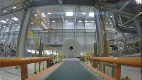 Taller enorme de la producción de las toallas de las servilletas del papel higiénico metrajes
