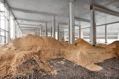 Taller moderno de la fábrica Fotografía de archivo