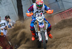 Talleres Pelayo Team. 24 Hours of Resistance. International motorcycle Vall del Tenes. Barcelona, Spain. September 05, 2015 Royalty Free Stock Images