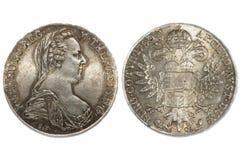 Tallero 1780 dell'Austria Fotografia Stock