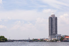 Tallest building in Bangkok. Royalty Free Stock Photography