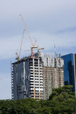 Tallest building construction Royalty Free Stock Photography