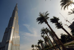 Tallest building in the world Stock Photo