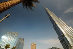 Tallest building in the world Stock Image