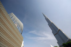 Tallest building in the world Royalty Free Stock Photo