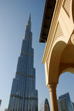 Tallest building in the world Royalty Free Stock Images