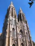 The tallest church in India Stock Photography