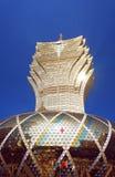 Tallest Macau building, Grand Lisboa casino Royalty Free Stock Photos