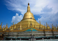 The tallest pagoda in Bago, Myanmar. Stock Image