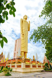 The Tallest standing Buddha image in Thailand Royalty Free Stock Photo