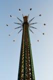 Tallest swinging carousel Royalty Free Stock Image