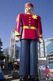 The tallest tin soldier in the world Stock Photography