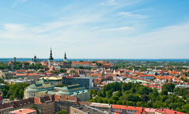 Tallin from air Stock Photo