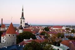 Tallin Ansicht Lizenzfreie Stockbilder