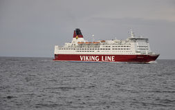 Tallin,august 23 2014-Cruise Ship on Baltic Sea Stock Images