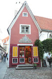 Tallin,august 23 2014-Downtown Building from Tallin in Estonia Stock Photography