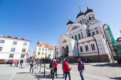Tallin Cathedral Royalty Free Stock Photo