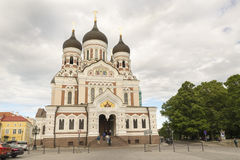 Tallin Cathedral Royalty Free Stock Images