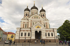 Tallin Cathedral Stock Photo