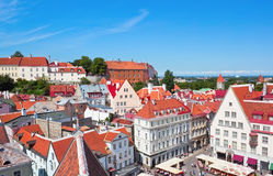 Tallin center Stock Photography