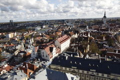 Tallin city center Royalty Free Stock Images