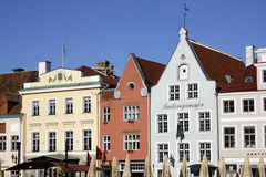 Tallin city center Royalty Free Stock Photo