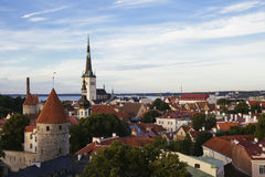 Tallin city view Stock Photos