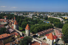 Tallin city view Royalty Free Stock Image