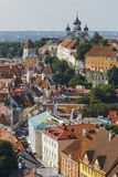 Tallin city view Stock Image
