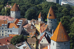 Tallin city view Royalty Free Stock Photography