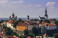 Tallin city view Royalty Free Stock Images