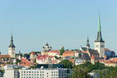 Tallin city view Royalty Free Stock Photo
