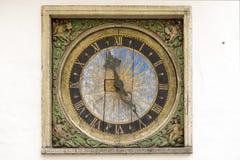 Tallin clock Stock Photos