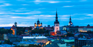 Tallin Estland Royaltyfria Foton
