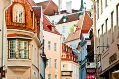 Free Tallin, Estonia Royalty Free Stock Image - 38675646