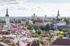 Tallin Estonia Stock Image