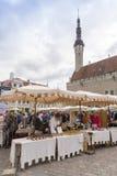 Tallin market Royalty Free Stock Photography