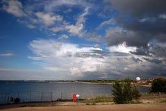 Tallin nublado Imagenes de archivo