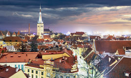 Tallin old town, Estonia. Royalty Free Stock Photography
