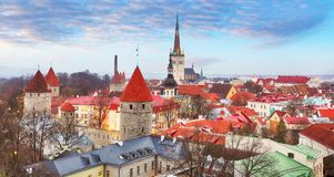 Tallin old town, Estonia. Tallin old town, Estonia at day Stock Photo