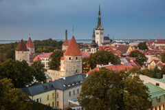 Tallin Old Town Royalty Free Stock Image